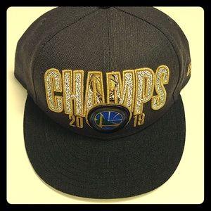 Golden State Warriors 2018 NBA Finals Champs Cap